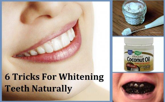 6 Tricks For Whitening Teeth