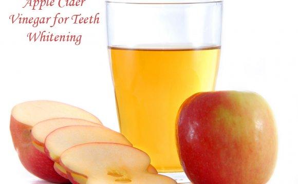 Apple Cider for White Teeth