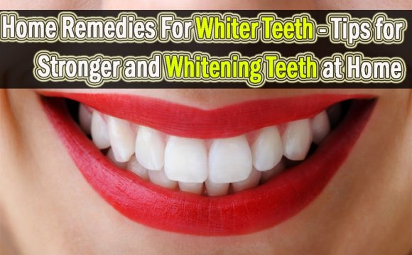 Home Remedies For Whiter Teeth