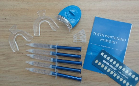 Fast white teeth whitening