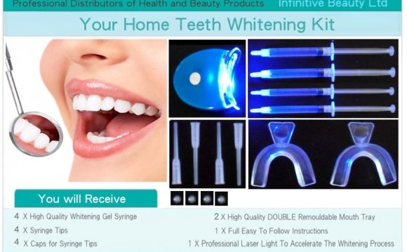 Laser Teeth Whitening Home Kit
