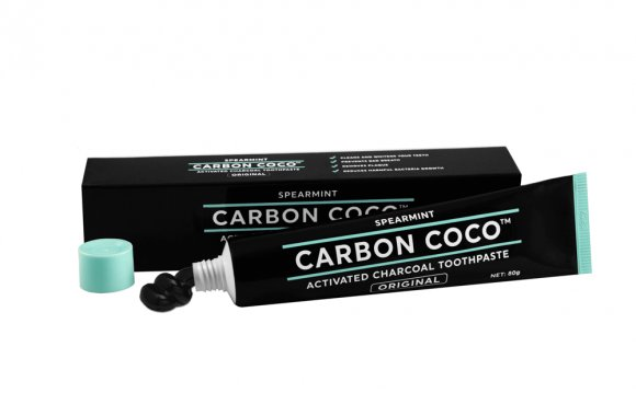 Charcoal teeth whitening products