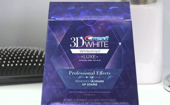 Crest Teeth Whitening Strips Professional Effects Teeth Whitening