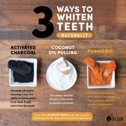 suja 3 ways to whiten teeth naturally