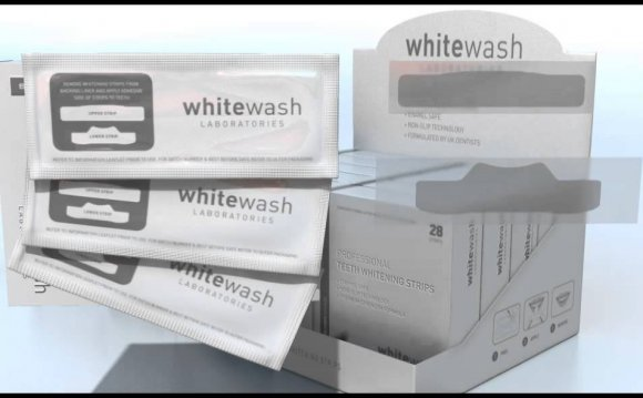 Whitewash teeth whitening strips